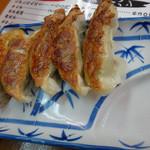 ラーメン長浜華 - サービスの餃子