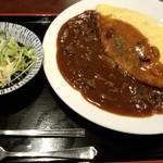 大新食堂 - オムハヤシ 700円
