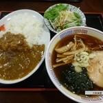 大新食堂 - ライスカレーセット   630円