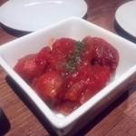 ブション - ソーセージのトマト煮
