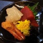 天ぷら よしおか - 刺身