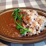 小空カフェ - 道産羊肉のカレー