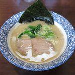 沖縄宮古島ラーメン 天晴 - 塩ラーメン(細麺、600円)