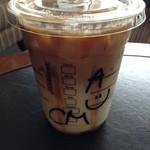 スターバックス・コーヒー - アイスキャラメルマキアート飲みながら、仕事の勉強…不安だらけだなぁ。