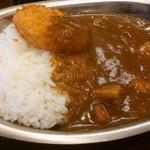 バルチックカレー - 角煮ポークカレー(甘口)¥700 +カニクリームコロッケ¥100