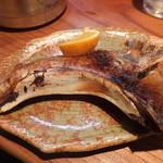 桂城 - カマの塩焼きです。