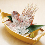 こちらまる特漁業部 - 料理写真:活鯛姿盛り