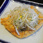本むら庵 - 鴨肉詰め おきつね焼き(735円)
