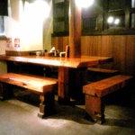 らぁめん屋 宮本武蔵 - 店内②(テーブル席)