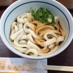 七越茶屋 - 伊勢うどん単品は450円