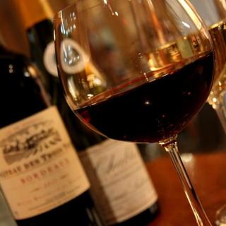 厳選ワインと共に楽しむ素敵フレンチ♪