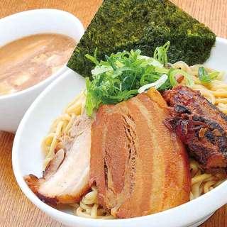 超濃厚豚骨魚介スープのつけ麺「ぶしもり」+「ミニミーツ」