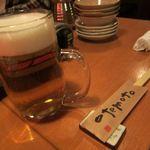 博多屋台 九一 - 生ビール