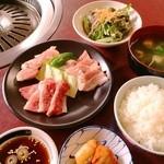 焼肉千八本店 - ランチメニュー【焼肉定食】