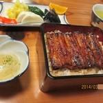 山尾 - 2014/3  梅重(肝吸い、お新香付)