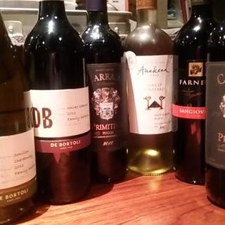 お手軽なのにとっても美味しいワインがラインナップ