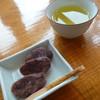 朱鞠内湖そばの花 - 料理写真:蕎麦羊羹