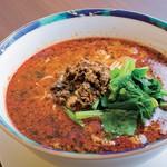 中国菜 橙 - ピリッと辛い中にも豊かなゴマの風味がしっかりきいた「坦々麺」(890円)