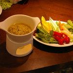 カームカフェ - 料理写真:バーニャカウダ