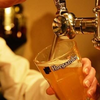 ●厳選したベルギービール