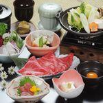 鈴鹿みやび - 料理写真:国産黒毛牛すき焼き御膳