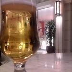 アンティコカフェ アルアビス - テラス席で乾杯♪
