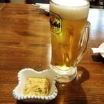 びみ亭 - 生ビール