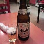 シルクロード - ビール中瓶(アサヒスーパードライ)