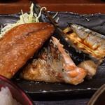 25694970 - 焼き魚三点盛り(アップ)