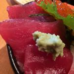 魚の旨い店 - 鮪の赤身