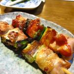 清浜 - ねぎま鶏焼(一本)150円