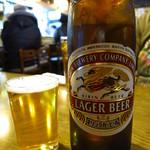 清浜 - ビール(大瓶)600円