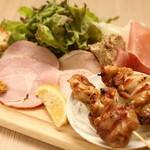 GRaiL - お肉の前菜の盛り合わせ
