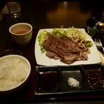 神戸牛炉窯焼ステーキ 雪月風花 北野坂 - 黒毛和牛BIGBANソテー1050円(税込)