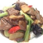 華空間 - 牛肉野菜丼