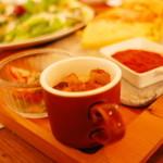 cafe zakka  hinatabocco - キッシュランチ