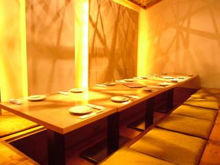 串焼き・魚 新宿宮川 - 16~25名様までの掘りごたつ個室。