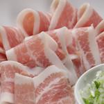 焼肉やる気 - 特撰大トロ豚肉の焼きしゃぶ