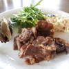 ウッディハウス - 料理写真:カルビの焼き肉。甘めのたれでした