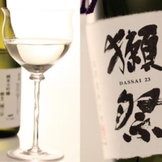 日本酒を多数ご用意してます。