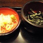 佐賀 - 海苔と薬味です