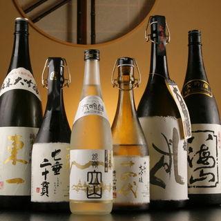 【日本酒】豊富にご用意しております