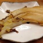 とんかつ 安右衛門 - 白菜のアーリオオーリオ
