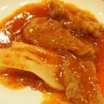 双龍居 - 牛肉の四川風煮込み