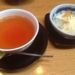 織部亭 - ドリンクとデザート