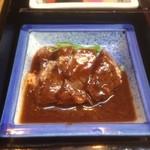 織部亭 - メインの牛ステーキ