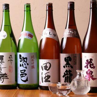 全国選りすぐりの地酒・焼酎・果実酒