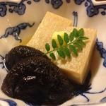 しぐれ茶屋 侘助 - 高野豆富