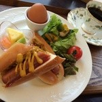 カインズ カフェ - モーニングCセット \600