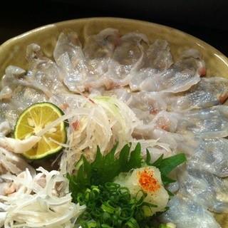 おまかせ料理お一人3500円~御用意いたします。
